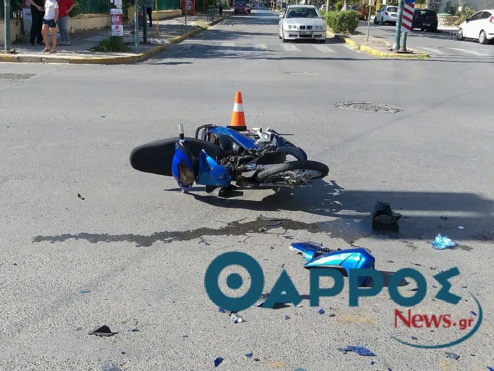 Σοβαρό τροχαίο ατύχημα στην οδό Ακρίτα! (φωτογραφίες)