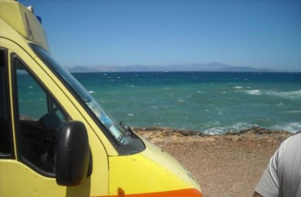 58χρονος έχασε τη ζωή του στην παραλία της Κυπαρισσίας