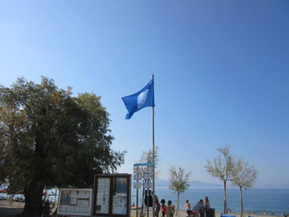 Γαλάζιες Σημαίες και το 2019 σε 4 παραλίες του Δήμου Καλαμάτας