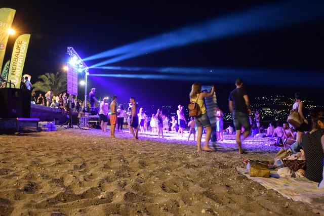 Χιλιάδες κόσμου για την 4η Γαλάζια Νύχτα / 2019 στο παραλιακό μέτωπο της Καλαμάτας