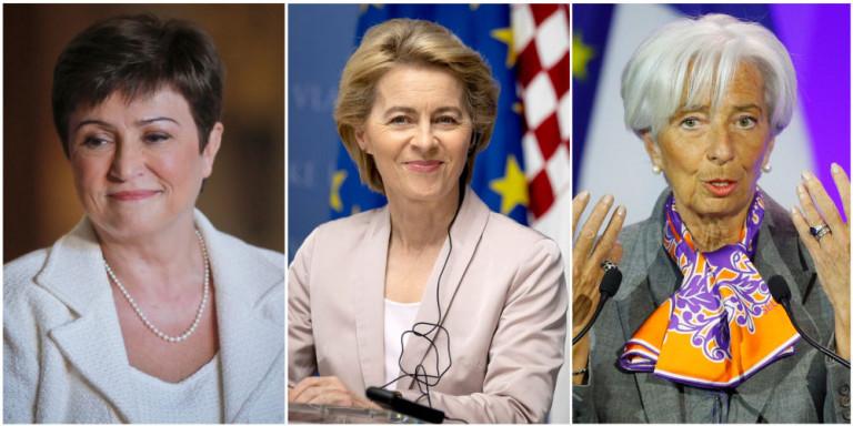 Η Ευρώπη εμπιστεύεται τις γυναίκες…