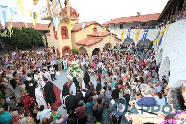 Μονή Βουλκάνου: Χωρίς νυχτερινή Θεία Λειτουργία και κάθοδο της Εικόνος  την παραμονή της Παναγίας
