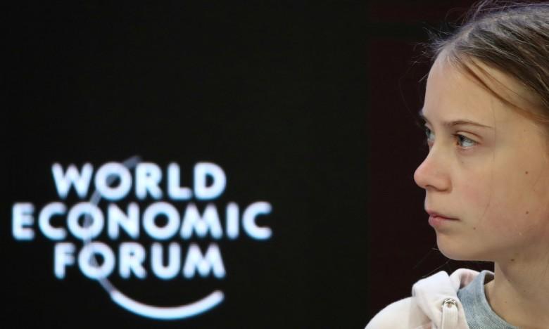 Γκρέτα Τούνμπεργκ στο Νταβός: Πρέπει να φέρουμε την επιστήμη στη συζήτηση