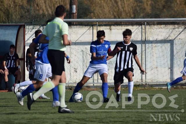 Football League Youth: Ήττα του Π.Σ. Η Καλαμάτα με 2-1 από το Αιγάλεω χθες στο Ασπρόχωμα