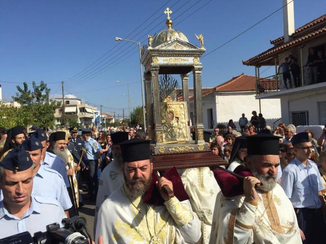 Μεσσήνη: Υποδοχή της Εικόνας  της Παναγίας της «Βουλκανιώτισσας»