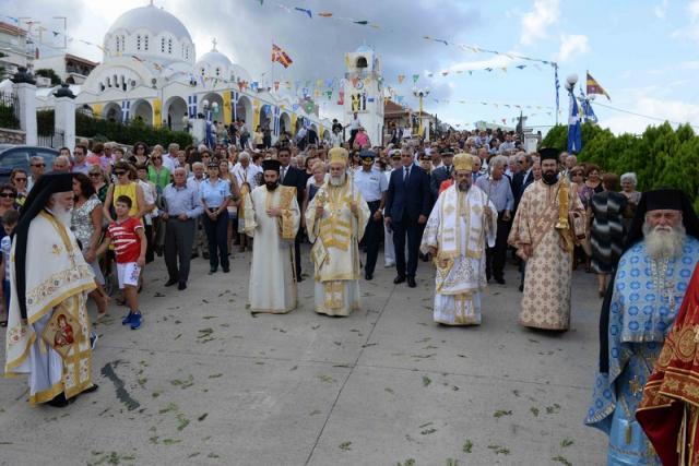 Την πολιούχο της Παναγία  Μυρτιδιώτισσα εορτάζει η Πύλος