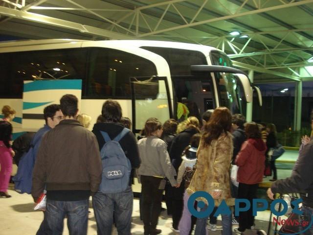 Ακυρώνεται το τελευταίο δρομολόγιο του ΚΤΕΛ για Αθήνα