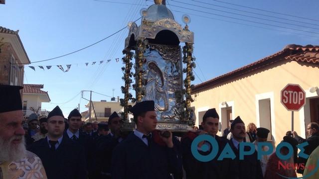 Χιλιάδες πιστών στη λαμπρή γιορτή για τον Άγιο Χαράλαμπο στα Φιλιατρά! (φωτογραφίες)