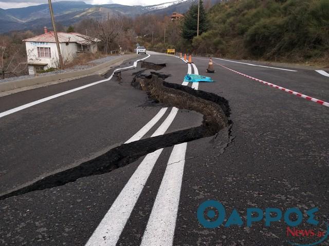 Κλειστή η Ε.Ο. Καλαμάτας- Σπάρτης, η κατάσταση στο υπόλοιπο οδικό δίκτυο