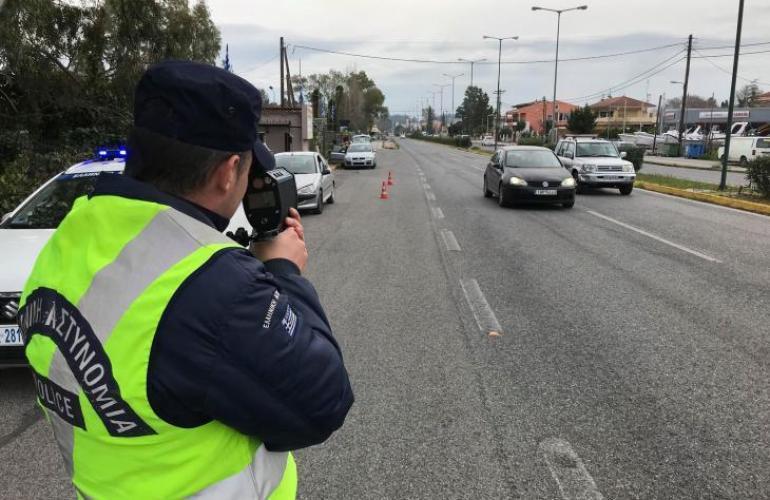 Μείωσαν το αλκοόλ, αλλά όχι την ταχύτητα οι Μεσσήνιοι οδηγοί