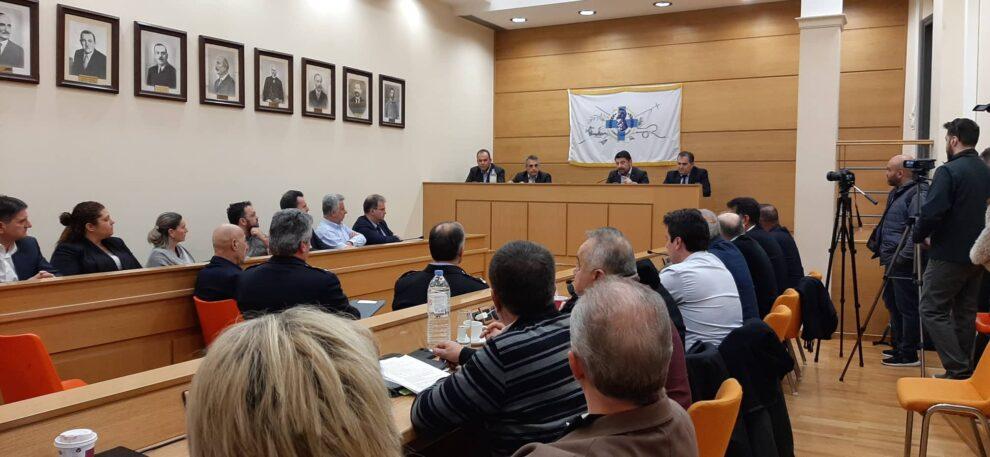 Ενημέρωση από το γενικό  γραμματέα Πολιτικής Προστασίας – Εκδήλωση στην Καλαμάτα