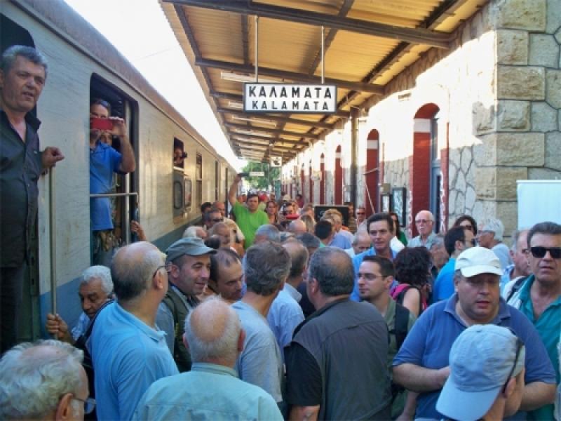 Το τρένο θα… σφυρίξει  και πάλι στην Καλαμάτα