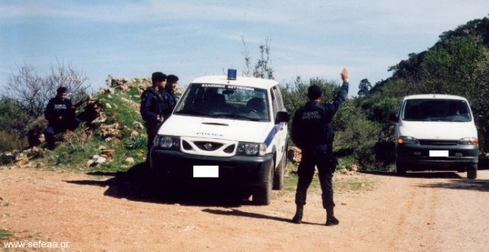 Μεσσηνία: Συλλήψεις σε αστυνομική επιχείρηση  για ναρκωτικά και κλοπές