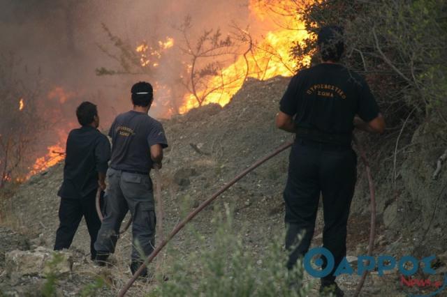 Στο… κόκκινο ο Δήμος  Καλαμάτας για εκδήλωση πυρκαγιών