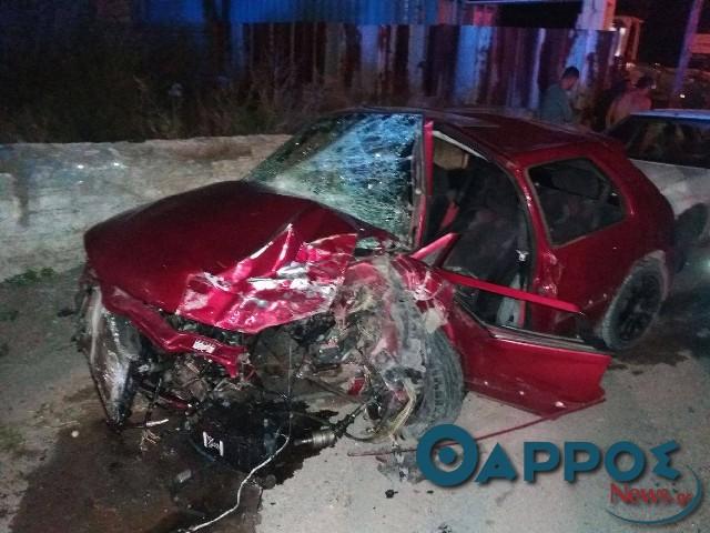 Σοβαρό τροχαίο με τραυματισμούς στην οδό Αθηνών (φωτογραφίες και βίντεο)