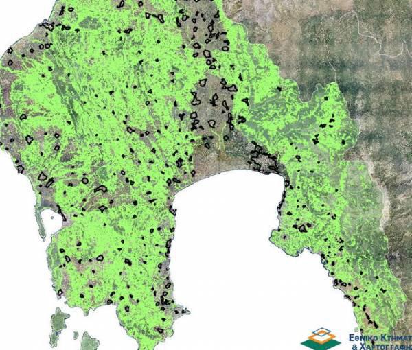 Μεσσηνία: Παράταση για τον αποχαρακτηρισμό δασικών εκτάσεων