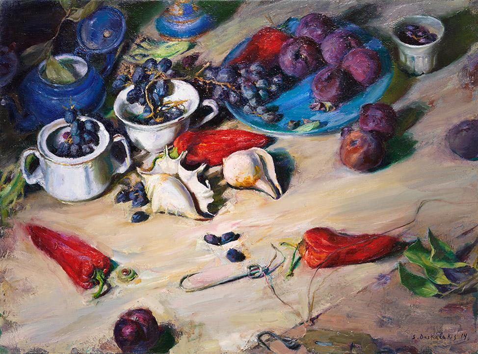 Έκθεση ζωγραφικής με 28 έργα των Δασκαλάκη, Μαδένη, Ρόρρη