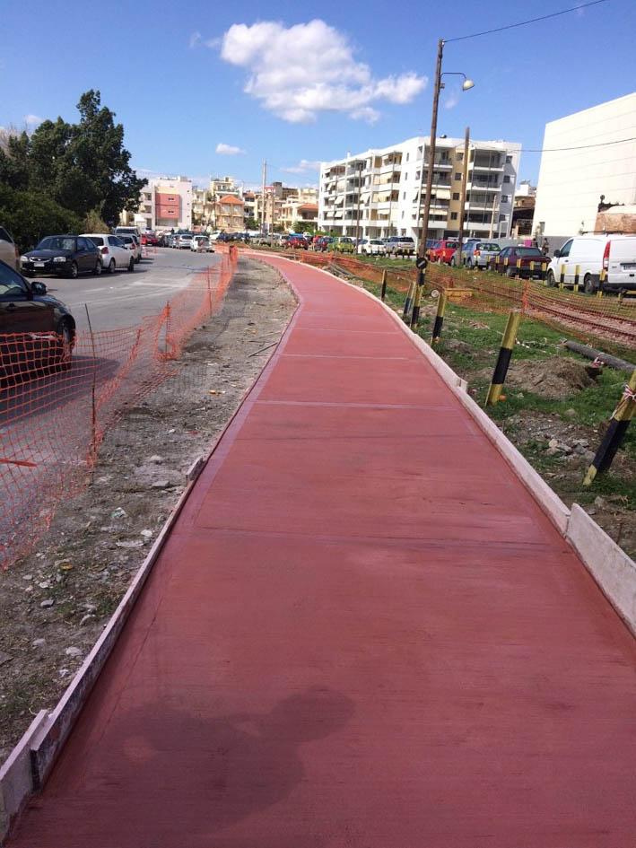 Ο ποδηλατόδρομος προς νέο Δημαρχείο