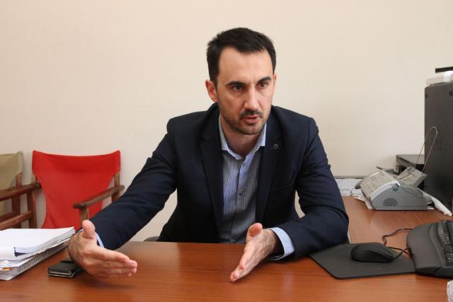 """Αλέξης Χαρίτσης: """"Εξαπάτηση"""" των πολιτών  τα έργα για τη Μεσσηνία"""