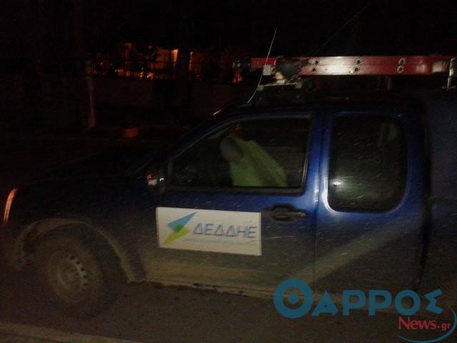 Αποκαταστάθηκε βλάβη στο δημοτικό φωτισμό με τον ΔΕΔΔΗΕ να ρίχνει την ευθύνη στον Δήμο