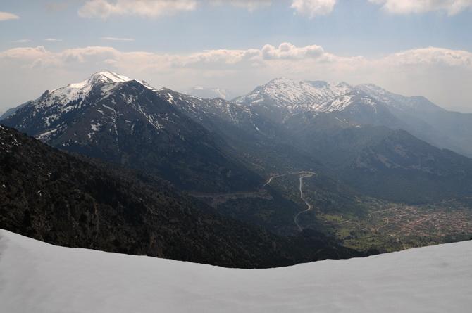 Ανάβαση στον Ολίγυρτο  την Κυριακή 16 Φεβρουαρίου  με τον ορειβατικό σύλλογο Καλαμάτας