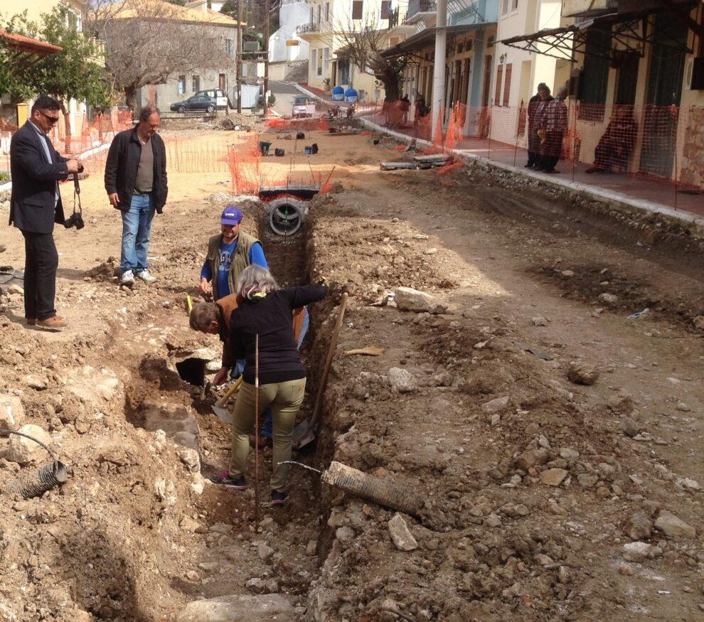 Άνω Πόλη Κυπαρισσία: Συνεχίζεται σήμερα η αυτοψία  κλιμακίου της Εφορείας Αρχαιοτήτων