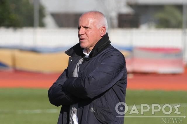 Νίκος Αναστόπουλος: Στόχος της Καλαμάτας είναι η άνοδος!