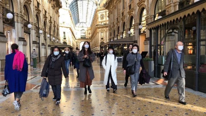 Αποτέλεσμα εικόνας για κινδυνος κορωνοιος ιταλια