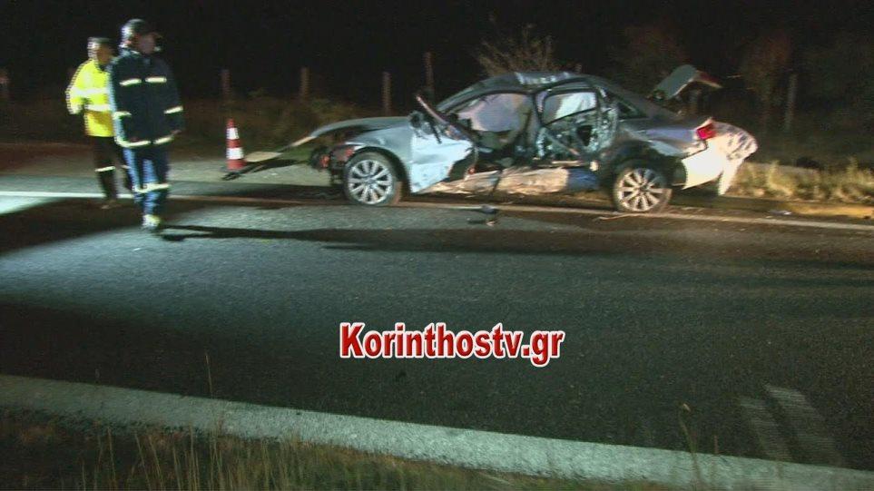 Θανατηφόρο τροχαίο δυστύχημα στην Αθηνών-Κορίνθου