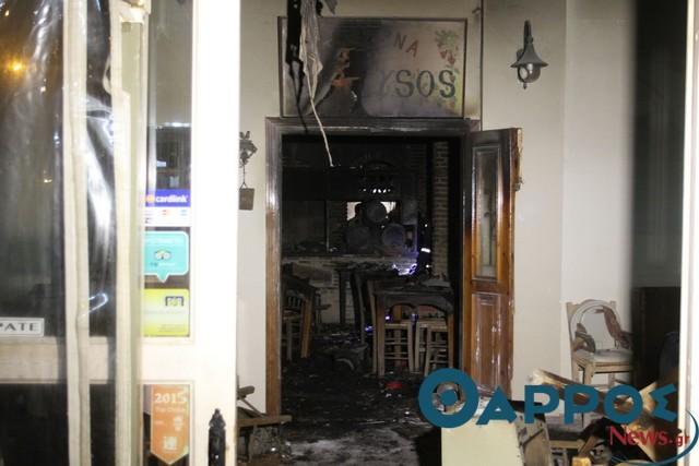 «Ματωμένη Υπαπαντή» – Τρεις γυναίκες έχασαν τη ζωή τους σε φωτιά σε ταβέρνα στην Καλαμάτα (φωτογραφίες & βίντεο)
