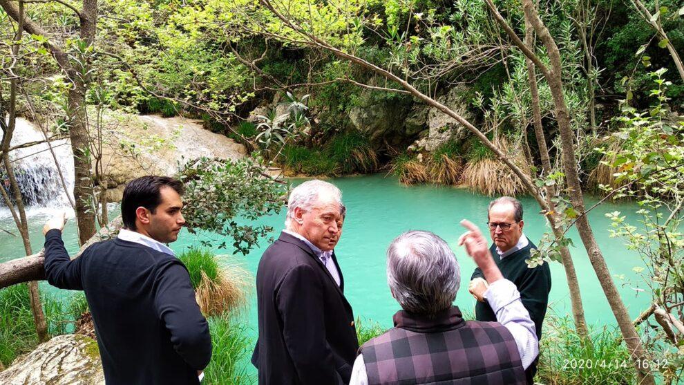 Μελέτη για την ασφάλεια των επισκεπτών στο Πολυλίμνιο