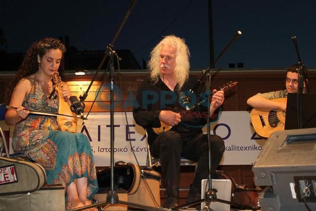 Μια μοναδική βραδιά χάρισε στο κοινό της Καλαμάτας ο Ross Daly (φωτογραφίες)