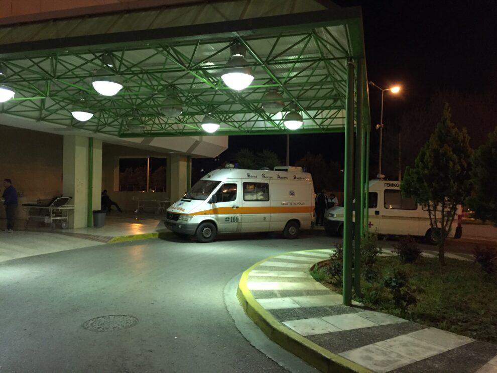 78χρονος νοσηλεύεται με κορωνοϊό  στο Νοσοκομείο της Καλαμάτας