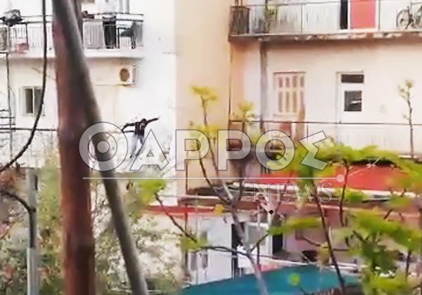 Πάλι διάρρηξη προσπάθησε  να κάνει 37χρονος Αρμένιος – Αποκλειστικό βίντεο από τη σύλληψη!