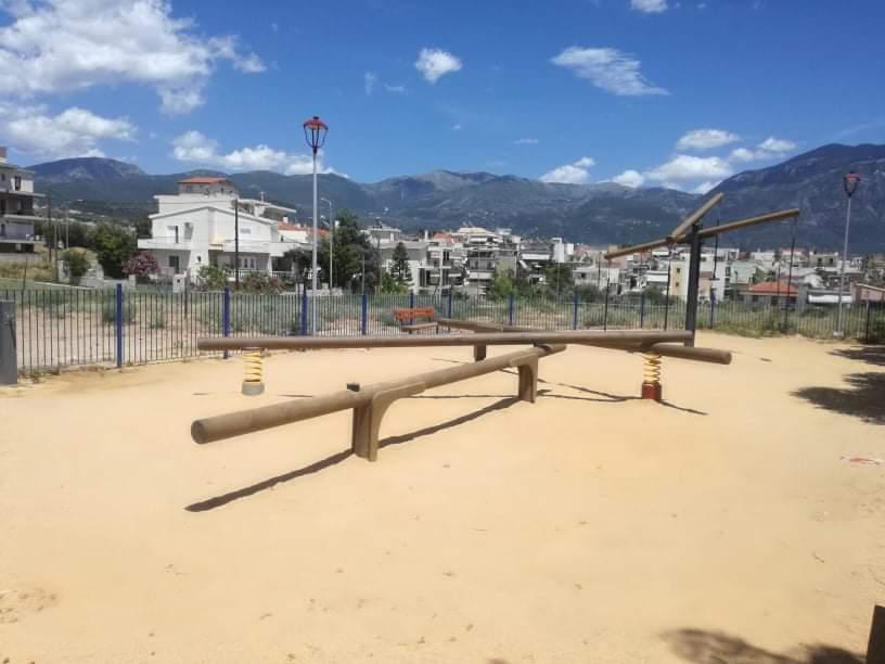 Βανδαλισμοί σε παιδικές  χαρές του Δήμου Καλαμάτας