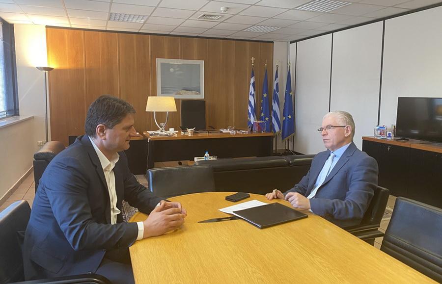 Στον πρόεδρο του ΕΛΓΑ ο Γ. Αθανασόπουλος
