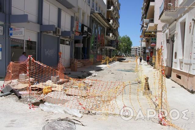 Απαλλαγή τελών για τους επαγγελματίες της οδού Ιατροπούλου