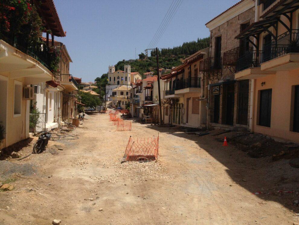 Γ. Λεβεντάκης: «Το έργο της Άνω Πόλης Κυπαρισσίας αύριο ξεκινάει κανονικότατα»