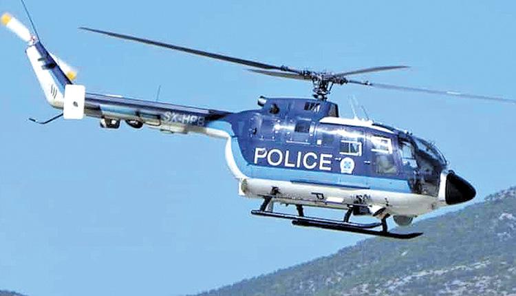 Από ελικόπτερο εντοπίστηκε χασισοφυτεία στα Κρεμμύδια – Συνελήφθησαν τρία αδέλφια που την καλλιεργούσαν