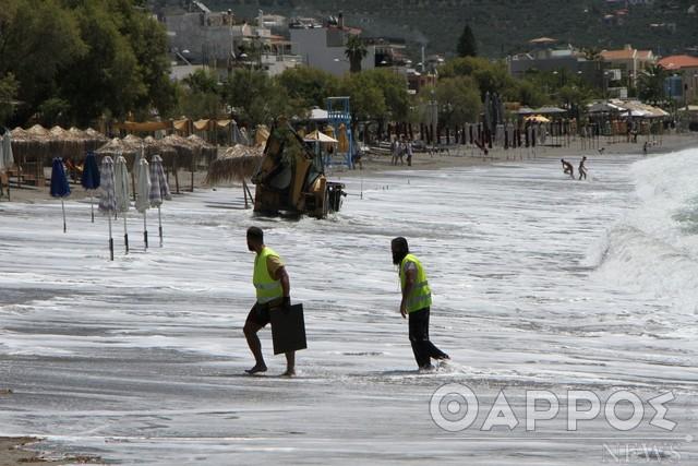 Καλαμάτα: Με το χειρότερο τρόπο ξεκίνησε το καλοκαίρι για την παραλία