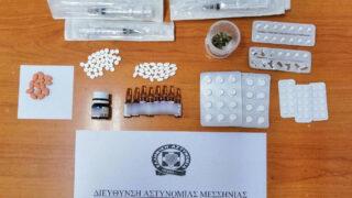 Συνελήφθη ένα άτομο για αναβολικά στη Μεσσηνία