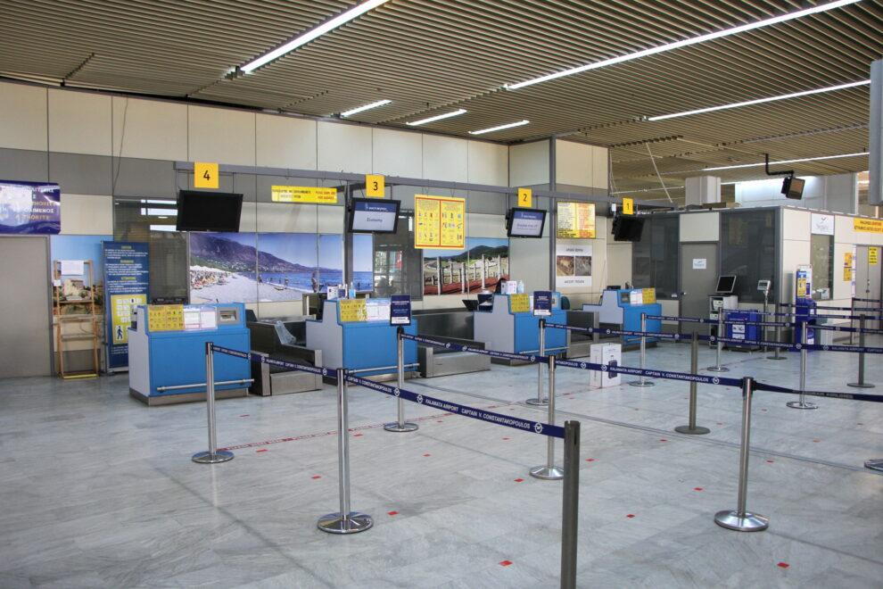 Σταγόνα-σταγόνα οι πτήσεις από  το εξωτερικό στο αεροδρόμιο της Καλαμάτας