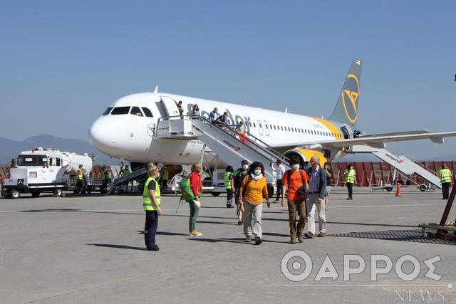 Ελβετοί οι πρώτοι τουρίστες στις 7 Μαΐου  στο αεροδρόμιο της Καλαμάτας