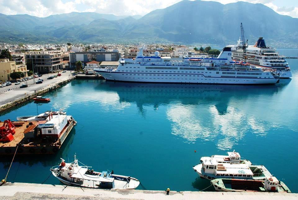 Ακυρώθηκαν όλες οι αφίξεις κρουαζιερόπλοιων σε Καλαμάτα και Πύλο