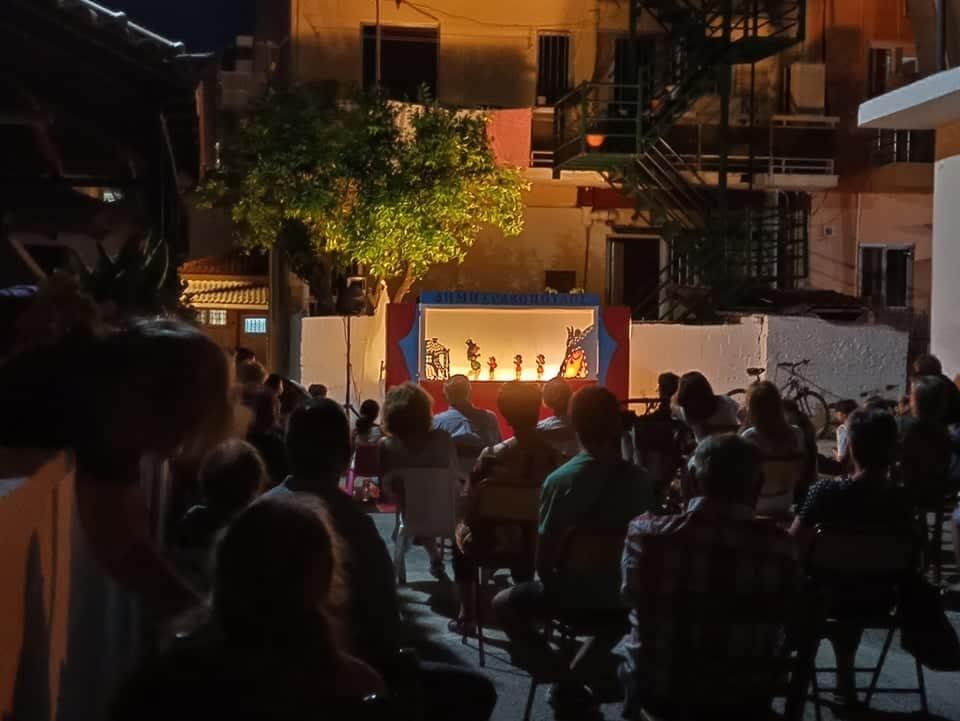 Παραστάσεις Θεάτρου Σκιών από απόψε στο Δήμο Οιχαλίας