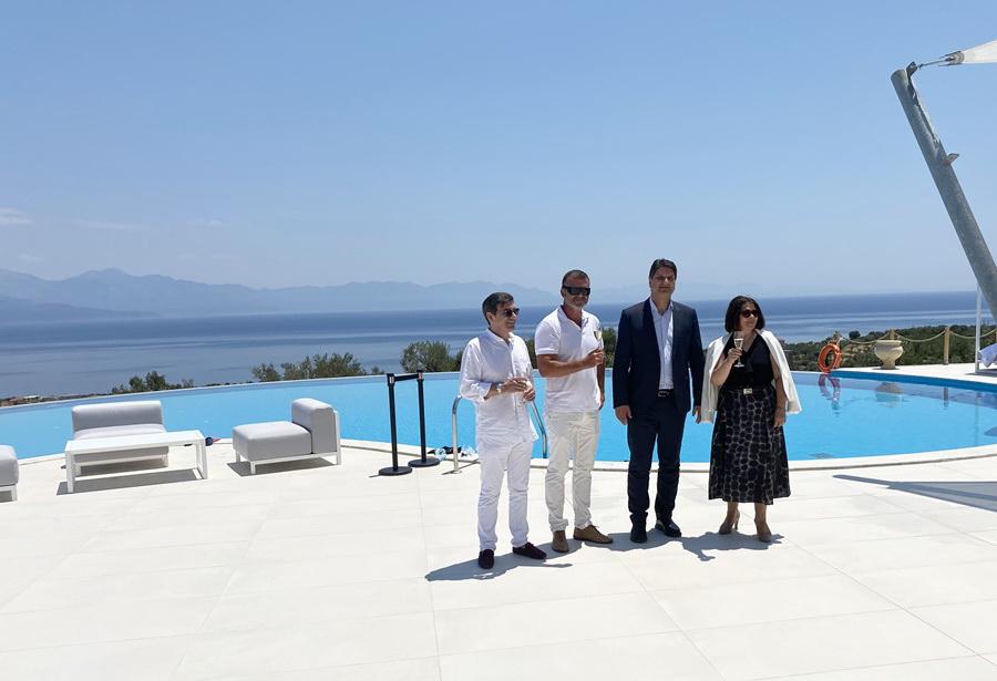 Εγκαίνια νέας ξενοδοχειακής μονάδας στους Χράνους
