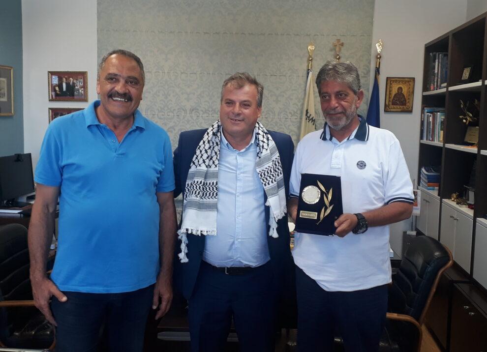 Επίσκεψη του πρέσβη της Παλαιστίνης στο Δήμο Πύλου – Νέστορος