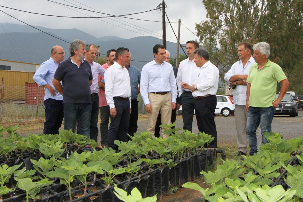 Συναντήσεις με Μητροπολίτη, Δήμαρχο και εξαγωγικές επιχειρήσεις είχε ο Κώστας Σκρέκας
