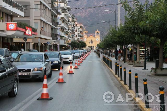 Αξιολογούνται οι προσωρινές κυκλοφοριακές ρυθμίσεις στην Καλαμάτα
