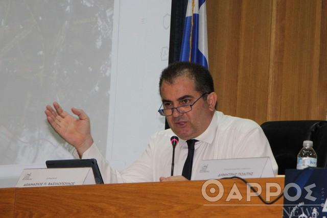 Θ. Βασιλόπουλος: Η συνεργασία και η συνεννόηση μπορούν να οδηγήσουν το Δήμο μπροστά